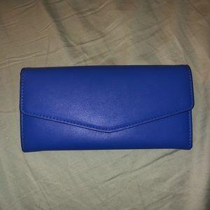Royal Blue Forever 21 Wallet